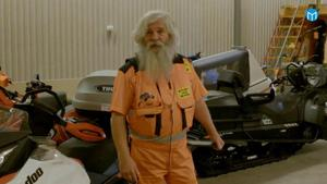 Kent Jonsson, bärgaren från Järpen som kommer att medverka i programmet Frusna vägar. Foto: TV3