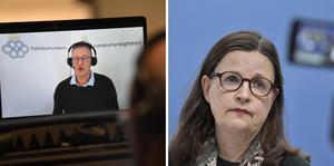 Utbildningsminister Anna Ekström håller idag en digital pressträff tillsammans med Folkhälsomyndigheten.