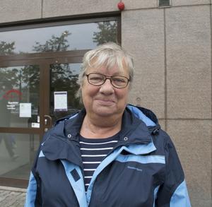Lena Åberg, 69, pensionär, Kvissleby.