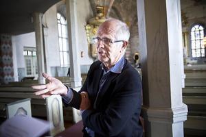 Utredaren och förre landshövdingen Jan Rydh, Stockholm, beskriver orglarna i Ljusdal som en omistlig kulturskatt och en tillväxtfaktor av oanade dimensioner.Foto: Linda Mårtensson