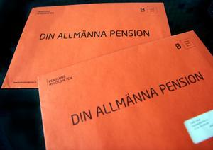 Det blir knappt mer i pension för den som har arbetat länge.Foto: Maja Suslin/TT