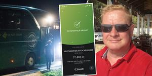 Kent Filppu har skickat över pengarna som insamlingen genererade till Kristianstads IK.