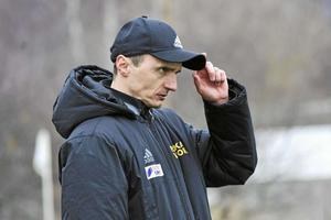 Arkivbild. Friska Viljors tränare Pero Kapcevic.