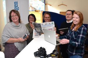 På redaktionen i Eksjö gläds man åt att antalet prenumeranter åter ökar.
