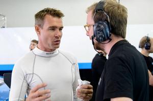 Fredrik Ekblom är klar för en ny STCC-säsong. Bild: Polestar Cyan Racing