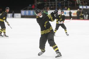 Patrik Nilsson dundrade in reduceringen tidigt i andra halvlek.