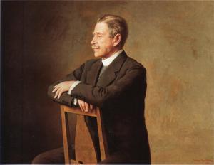 Verner von Heidenstam, porträtt av Johan Krouthén  från 1931.