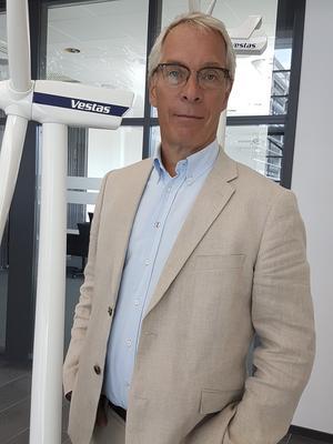 Jöns Sjöstedt, Vestas servicedirektör i Sverige.