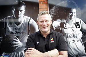 Robert Andersson har varit en stor del av sitt liv i Södertälje Basketbollklubb, både som spelare och ledare. Foto: LT