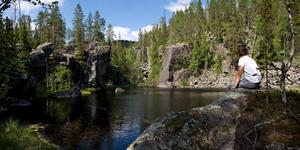 Stockholmsgatan. Här finns hissnande natur som skapades av en vildsint isälv för mer än niotusen år sedan.