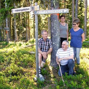 Några av de som jobbat med lederna är Tommy Hallqvist, Annie Nilsson, Tore Amundsson och Eli Hynne