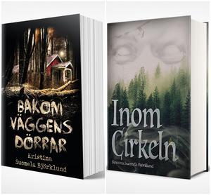 """Sedan Kristina Suomela gav ut sin """"Karne - skriet från häxberget"""" i början av 2018 har hon hunnit ge ut ytterligare två böcker; """"Bakom väggens dörrar"""" och """"Inom cirkeln""""."""