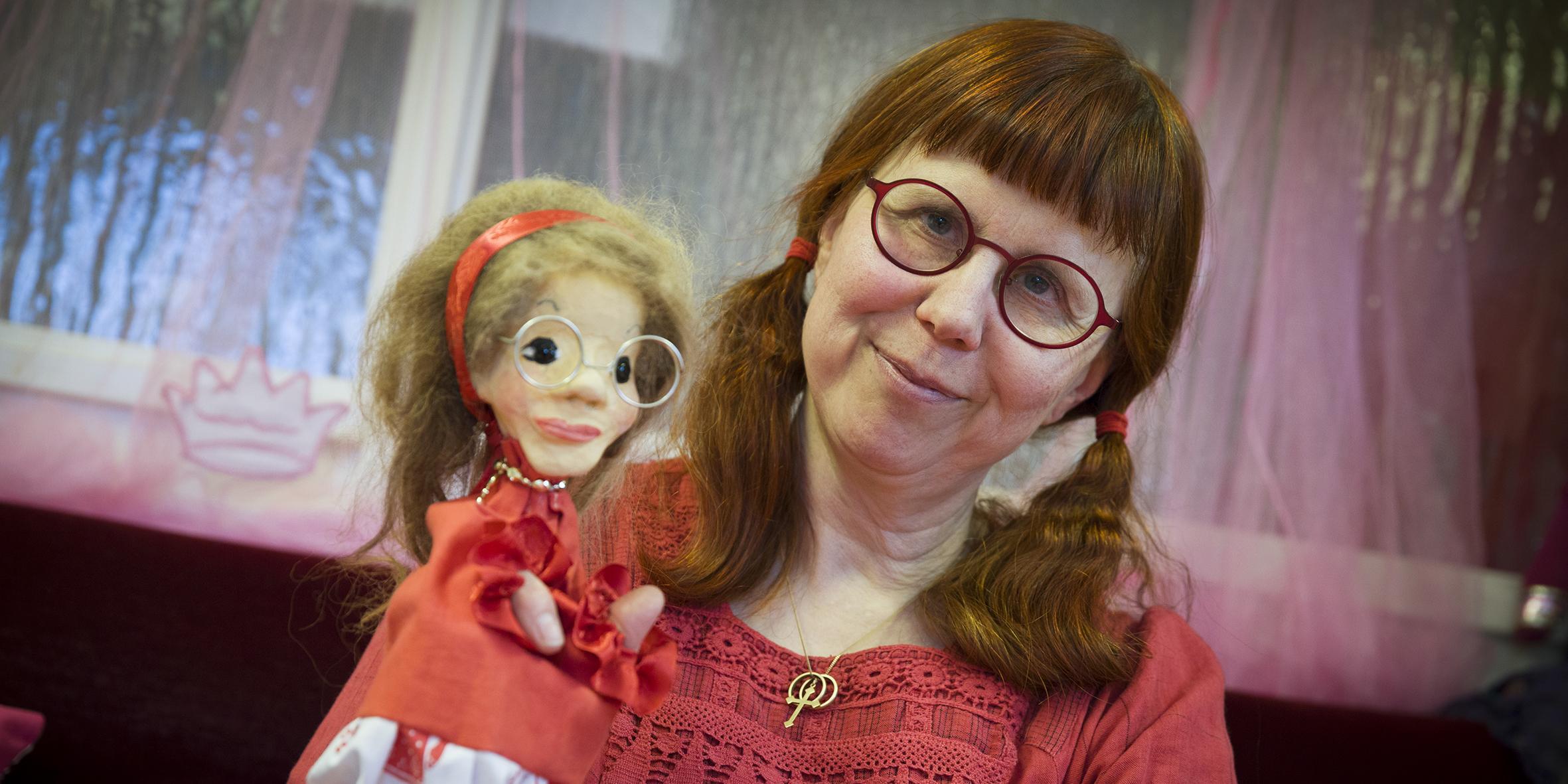 Sagotantens dockor ger barnen mod: