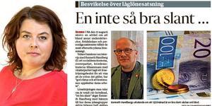 Vänsterpartiets Martha Wicklund skriver om arbete med att få igenom en satsning på välfärdsarbetarna i Örebro kommun.