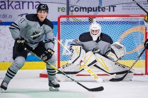 August Hedlund spelade förtroendeingivande i AIK-målet. Foto: Bildbyrån.