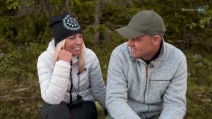 Susanne Bostrand och Jimmy Olofsson i Bonde söker fru. Foto: TV4