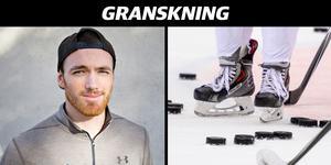 Jake Mullen, 23 år från Idaho, kom till Sverige för att spela i VG Hockey men hann bara vara med på en träning innan klubben upplöstes.