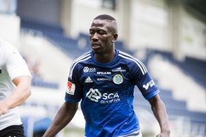 Pa Dibba var en bärande spelare i GIF Sundsvall innan han lämnade klubben för Hammarby.