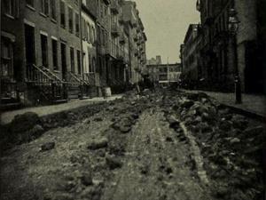 Morton street i New York, 17 mars 1893. Foto: Wikimedia commons.
