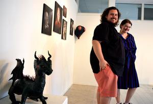 Konst, teater och musik är några av sakerna som Art Lab innehåller. William C. Woxlin och Matilda Blomquist bjuder in till gratis kulturupplevelser och skapande verkstad för barn.
