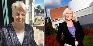 Maria Leonardsson är rektor på Täljegymnasiet och Susann Jungåker för Mälardalens tekniska gymnasium.