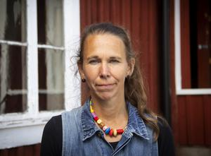 Ann-Caroline Breig målar live till nyskriven jazzmusik på Kvarnen på onsdag.