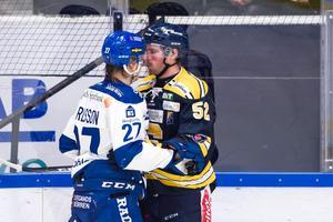 Leksand och SSK ställs mot varandra i en het match. Foto: Dennis Ylikangas/Bildbyrån
