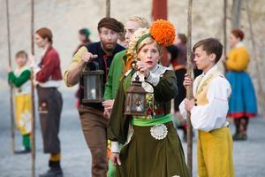 Sommarens föreställning Bergtagna var en del av Dalateaterns folkliga satsning.Foto: Pressbild/Per Eriksson
