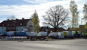 Idag bedrivs släpvagnsuthyrning på platsen.