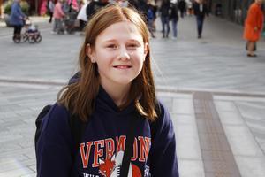 Ebba Åkerlund, 12 år .
