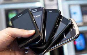 Smarta telefoner eller? Foto Bertil Enevåg Ericson / SCANPIX /
