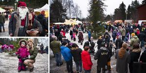 I helgen är det julmarknad på Norra berget.