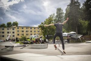 2018 arrangerades BBQ battle för första gången i den nybyggda skateparken på norr i Söderhamn.