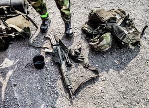 Rysskräcken tycks sitta i hos de som åter vill ha krigsmakt i Falun. Foto: TT