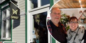 John och Annet har flyttat både sig själva och sin butik från Älvdalen till Säter.