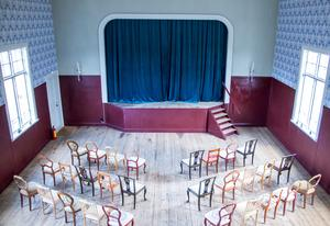 Stora salen passar fint både för teater och dans.