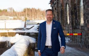 Teemu Salmi, Stora Ensos nya IT-chef, fick sin utbildning på Högskolan Dalarna.
