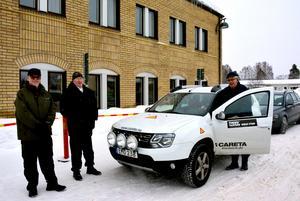 Lars Göran Ekström, Börje Stenqvist och Örjan Andersson i Byavakt Tuna–Attmar beklagar att den viktiga verksamheten hotas av nedläggning.