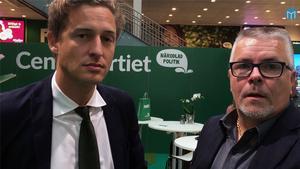Hasse Tavér är på plats i Stockholm för att intervjua politikern intressanta för Västernorrland. Här fick han några minuter med riksdagsledamoten Emil Källström (C).