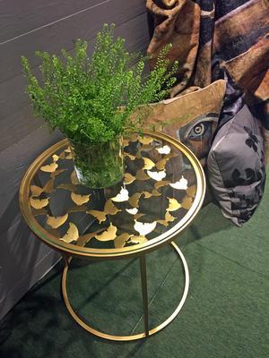 Fjärilar, bord, mässing, rekommenderat pris 3300 kronor, från Gynning design. Webbutik: gynningdesign.se