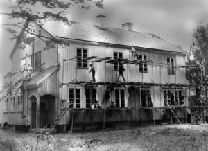 Det gamla epidemisjukhuset, byggt 1923, rustades för att bli ett allaktivitetshus för ungdomar 1971.
