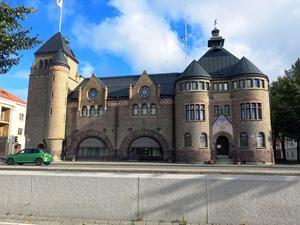 Ferdinand Bobergs brandstation utsågs till Gävles vackraste byggnad vid en omröstning i GD 2016.