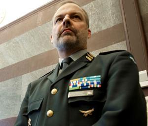 Fd officeren Sten Bredberg kommenterar turerna som gjorde att general Anders Brännström (bilden) valde att säga upp sig. Foto: Maja Suslin