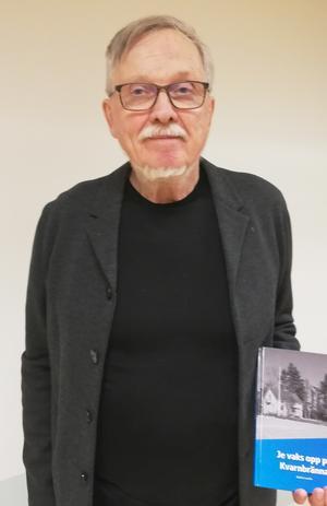 Stefan Lundin presenterade sin nya bok. Foto: Eva-Märta Pålsson