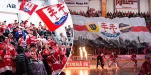 Supporterklubben på Västra stå hoppas på stöd från hela arenan. Bild: ST arkiv och Pär Olert/Bildbyrån