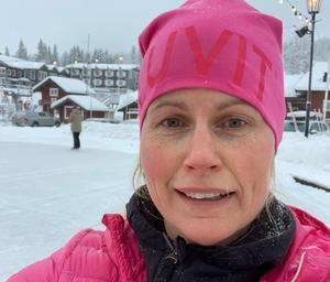 """""""Nu ser jag fram mot att komma hem igen, säger Jessica Larzon"""" som blir ny anläggningschef för Mora parken.Foto: Privat"""