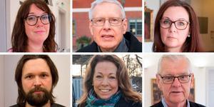 Ulrika Spårebo, Glenn Andersson, Camilla Runerås, Viktor Kärvinge, Jessica Silversten och P-O Rapp dundrar mot kritiken från centerpartiet.