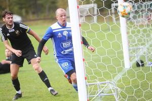 Per Rickström tände hoppet med sina sena kvittering i första halvlek.