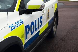 Polisen larmades till platsen strax efter 18.00.