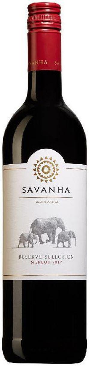 Savanha Winemakers Selection Merlot 2017.